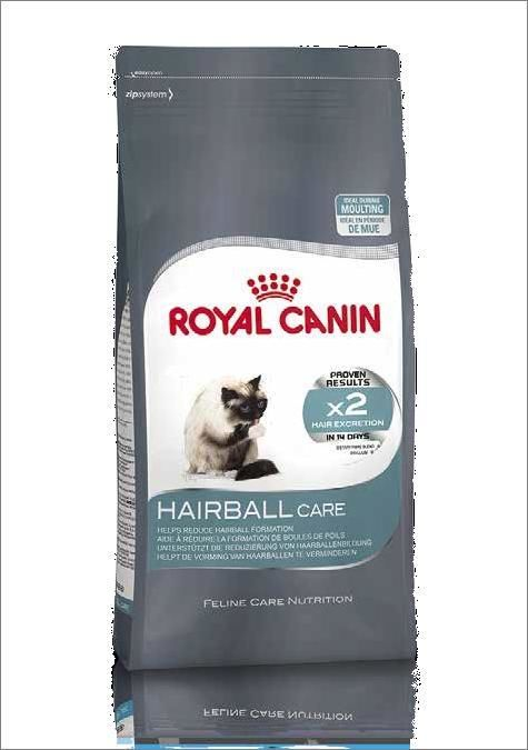 Hairball корм royal canin