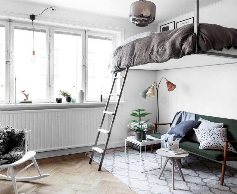 Создать уютный интерьер можно даже в крохотной комнате